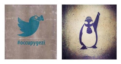Graffitis de #OccupyGezi